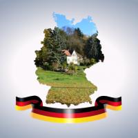 Germany Map Regionen